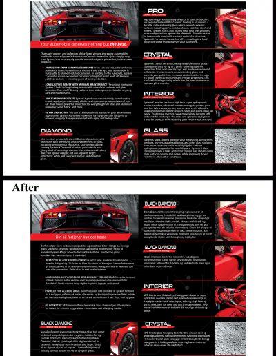 Brochure Editing